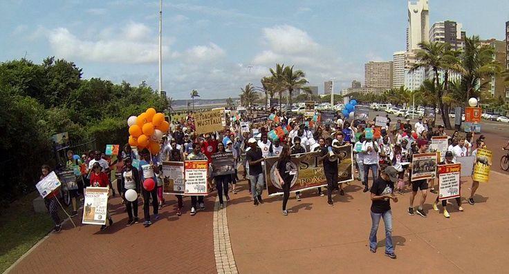 #Durban #GMFER2017 #Justice4Wildlife 7th October 2017