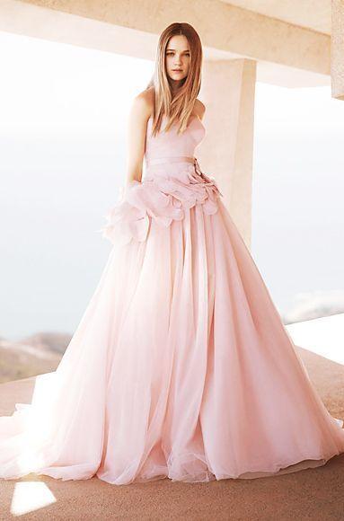 最強可愛いピンク色カラードレスのおすすめブランド4選 | marry[マリー]