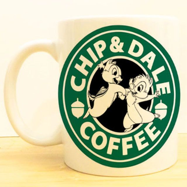 Chip and Dale Coffee! ★Ceramic Mug 11oz ★Dishwasher/microwave safe ★Doesn't scratch off ★Message me if you want any custom mugs! Contact us at shopwolffawn@gmail.com Instagram: @shopwolffawn