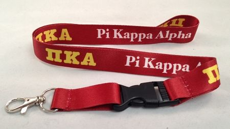 Pi Kappa Alpha PIKE Fraternity Lanyard - Brothers and Sisters' Greek Store