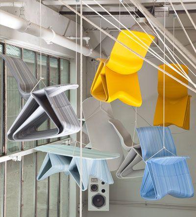 Dutch designer Dirk Vander takes your old plastic bottles and makes something to sit on via 3DPrinting...: Plastic Bottle, Cadcnclazerrapid Prototyp