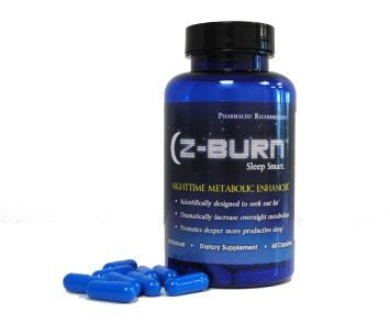 Z-burn -- 60 Capsules -- Night Time Fat Loss Supplement -