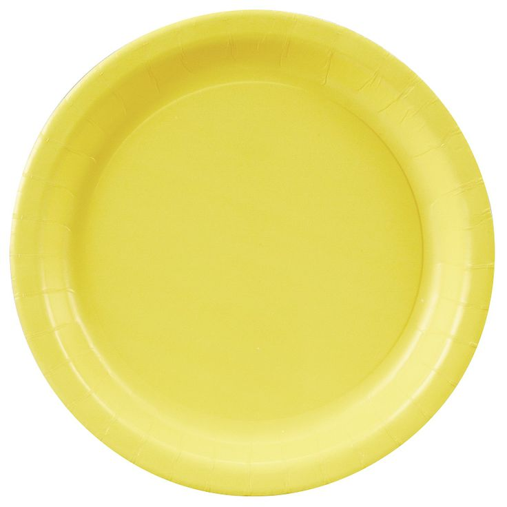 Mimosa (Light Yellow) Dinner Plates, 72681