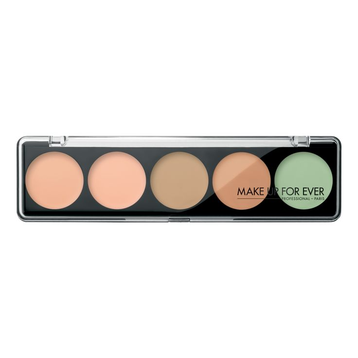 5 Camouflage Cream Palette - Very Light Complexions 12201