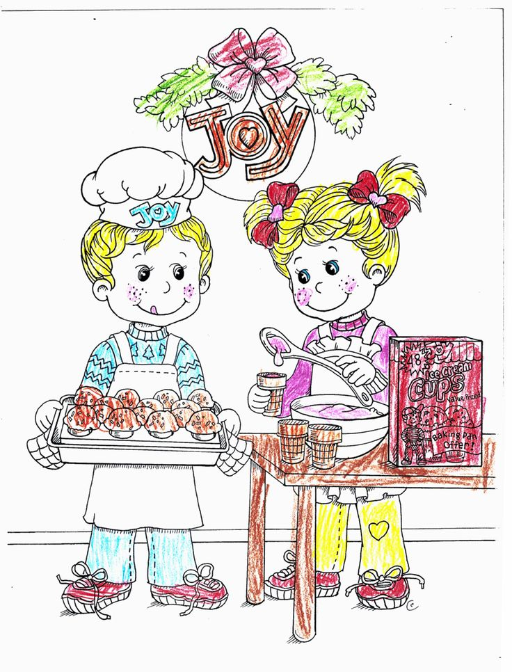 Joy Coloring Sweepstakes entry from Briella age 10 from IA! #bringJOYhome #coloring #icecreamcones #holidays