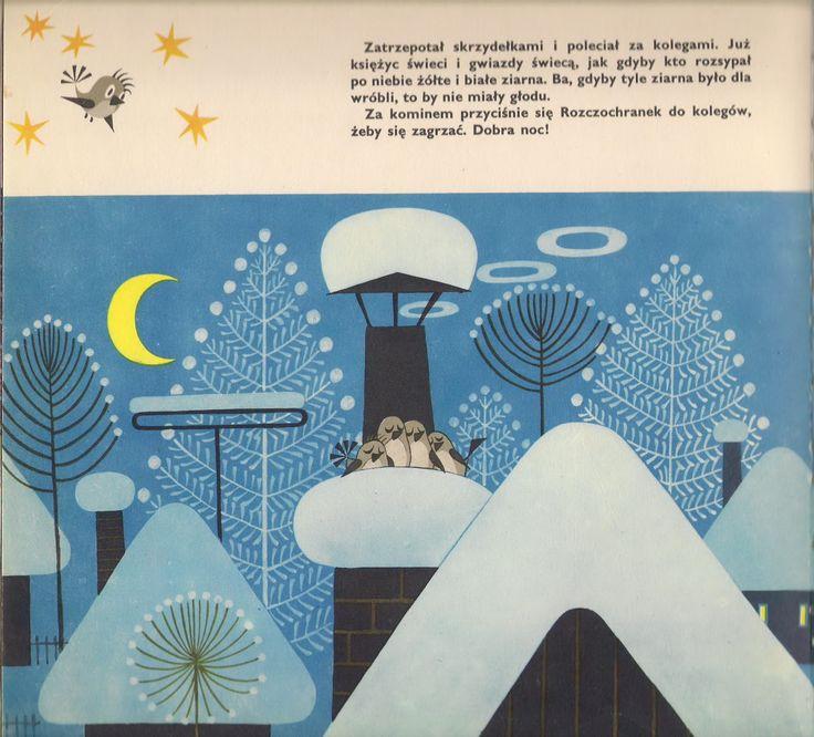 Garaż ilustracji książkowych: O najbogatszym wróblu na świecie - Zdenek Miler