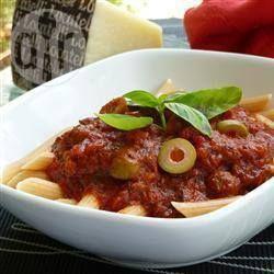 Incroyable sauce à spaghetti à la mijoteuse @ qc.allrecipes.ca