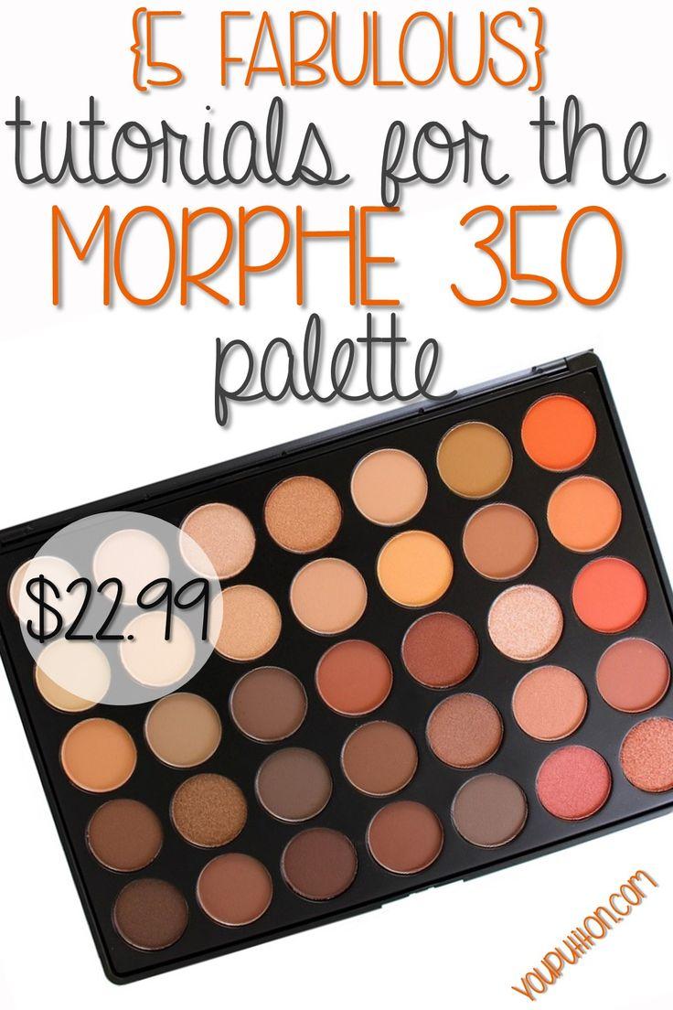 5 Tutorials for the Morphe 35O Palette