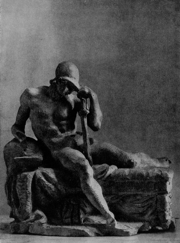 The vigil of Alexander the Great. #ancient #Greek kingdom of #Macedonia - #Sketch. Terracotta. 1780s. Leningrad, the #russian #Museum.