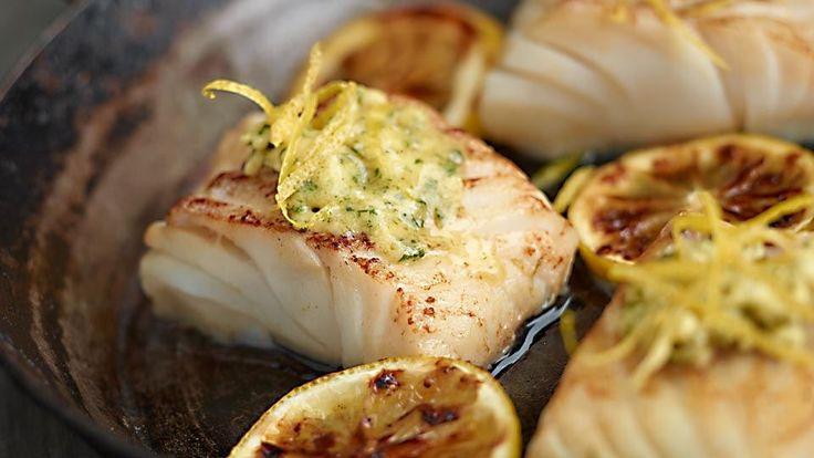 Treska s cesnakovo-citrónovým maslom