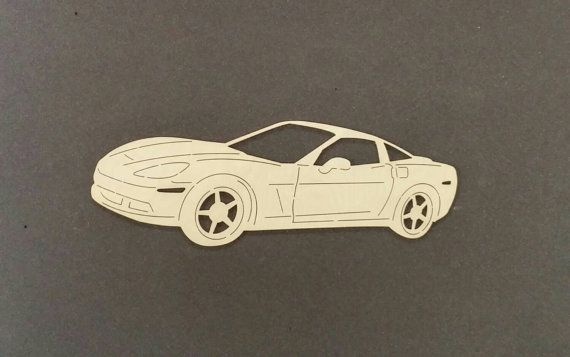 2006 CORVETTE voiture Sticker bois de bouleau par ChildersWoodWorks