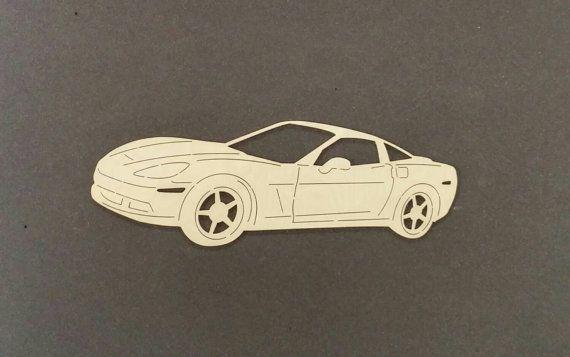 2006 CORVETTE voiture Sticker bois de bouleau par ChildersWoodWorks
