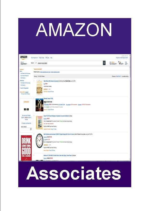 Amazon Associate is different to Amazon user account http://judijaques.com