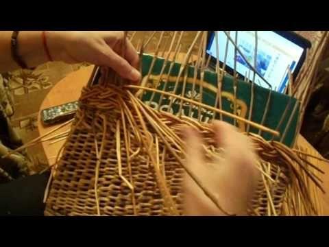 Узор «коса», загибки «изида» и «розга», ручка для корзин «камышок». Плетение из бумаги | oblacco