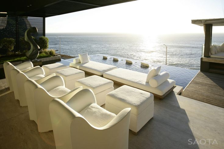 contemporist - modern architecture - saota - victoria 73 house - cape town - south africa - exterior view - swimming pool & deck