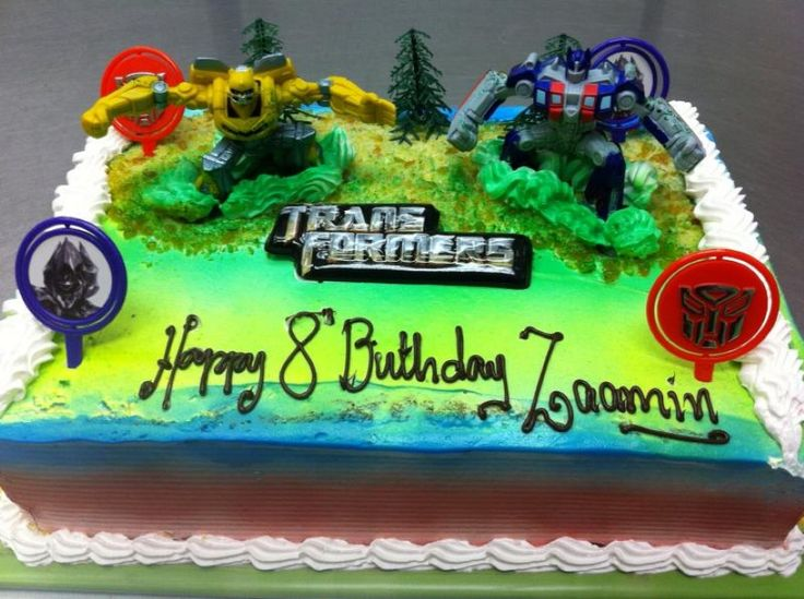 69 best Transformers party images on Pinterest Anniversary ideas
