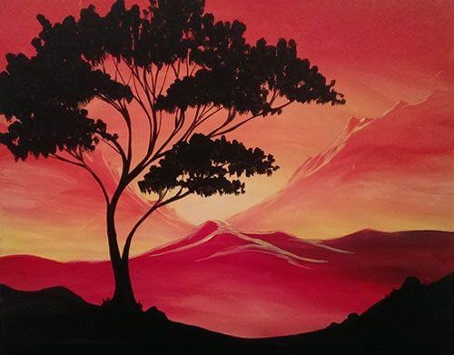 644 Best Paint Nite Images On Pinterest