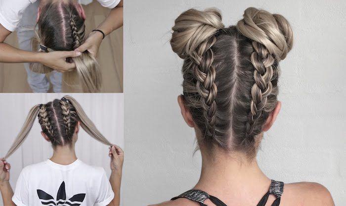 1001 Inspirierende Ideen Fur Einfache Flechtfrisuren Zum Selbermachen Schonheit Easy Hairstyles Braided Hairstyles Easy Hair Styles