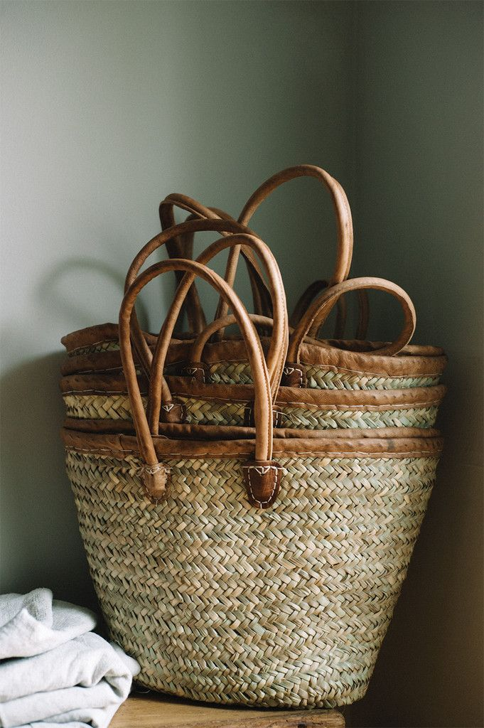 Rustic French Market Basket