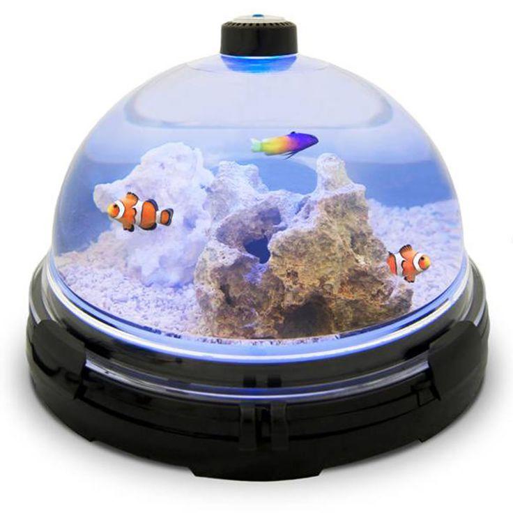Perfect The Tabletop Saltwater Aquarium   Hammacher Schlemmer