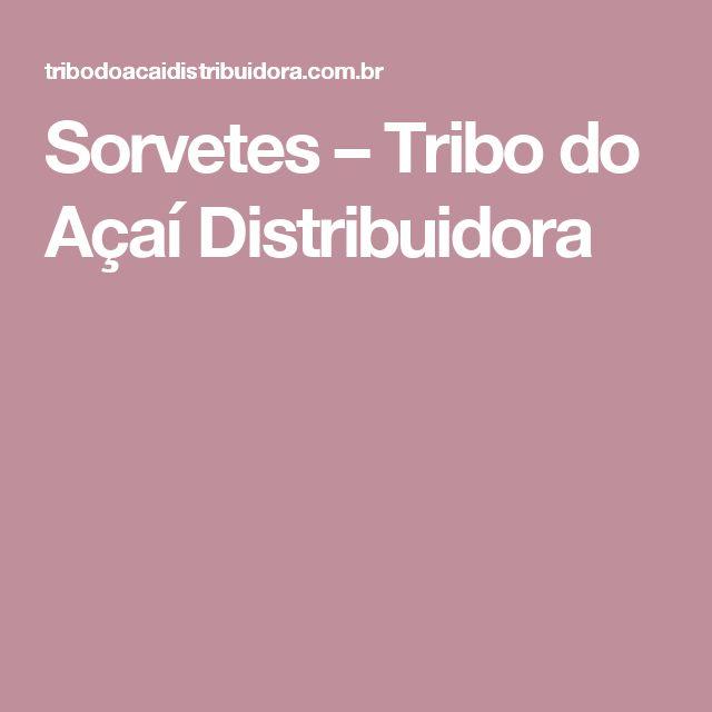 Sorvetes – Tribo do Açaí Distribuidora