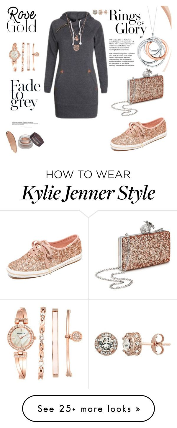 """""""Rose Gold Fades to grey"""" by agnesmakoni on Polyvore featuring Tiffany & Co., Keds, Miss Selfridge, Michael Kors, Anne Klein and keep"""