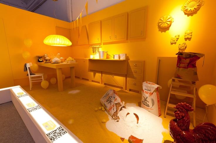 eBay Temporary Loft - Kitchen
