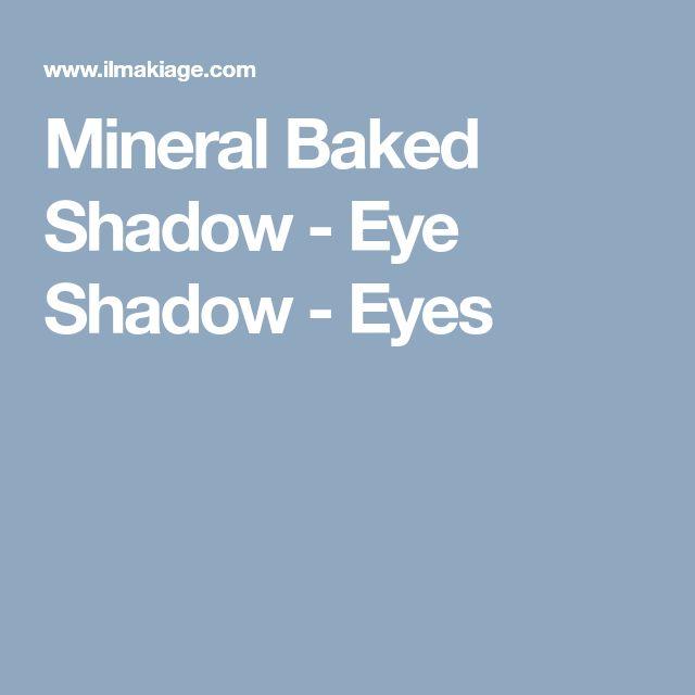Mineral Baked Shadow - Eye Shadow - Eyes