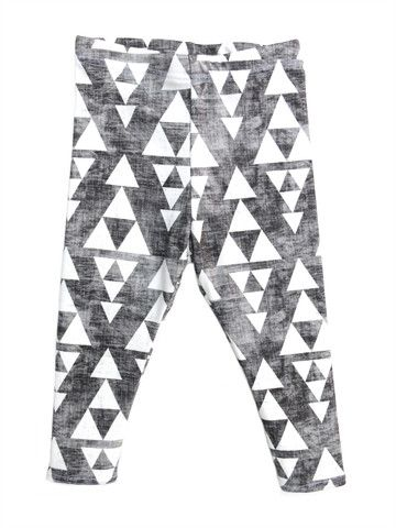 Distressed triangles.