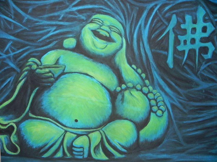 laughing buddha art - Google Search