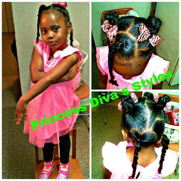 Magnificent 1000 Images About Natural Kids Pig Ponytails On Pinterest Two Short Hairstyles Gunalazisus
