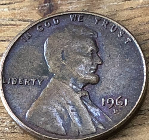 Details about 1961 D Lincoln Memorial Cent Penny (BU