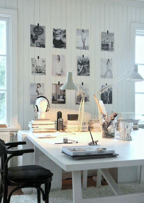 ¡Una selección de espacios creativos de trabajo que desearás!