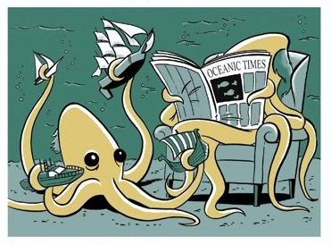 Aww... baby kraken