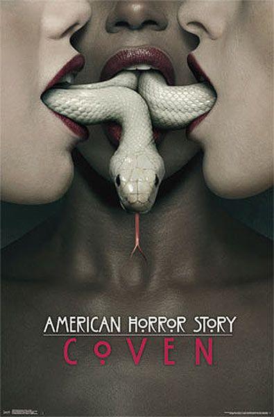 Póster American Horror Story Coven Decora la pared de tu habitación con la imagen de la portada de la tercera temporada de la serie de Tv American Horror Story: Coven.