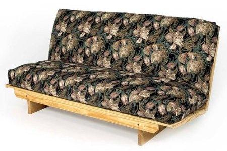 Amazon Full Size Super EZ Futon Frame Solid Wood Sofa