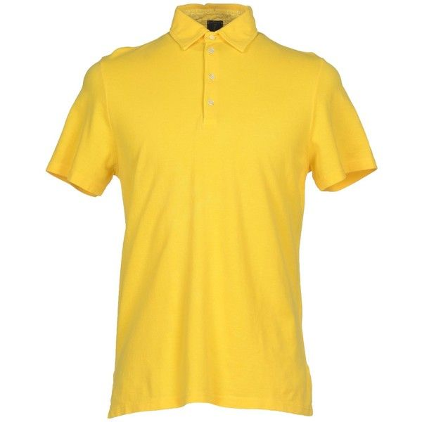 Mosaique Polo Shirt ($52) ❤ liked on Polyvore featuring men's fashion, men's clothing, men's shirts, men's polos, yellow, mens cotton shirts, mens polo collar shirts, mens short sleeve shirts, mens short sleeve polo shirts and men's cotton polo shirts