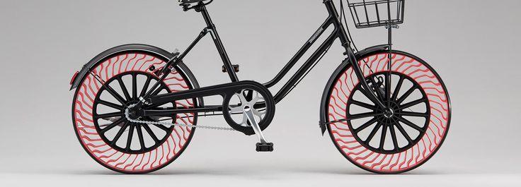 Безвоздушные шины или мечта велосипедиста
