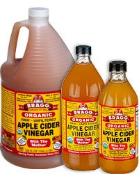 ACV hair rinse.  Cleanses hair, adds shine, gets rid of buildup.  A little stinky while in the shower, but it rinses clean. And hey, might as well clean the bathtub with it while you are at it!