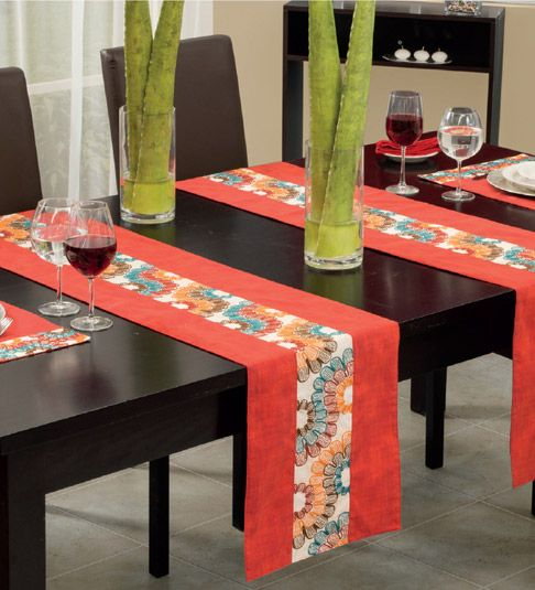 124 best mesa images on Pinterest Table runners, Embroidery and