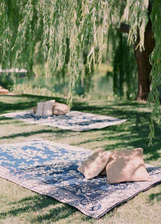 How To Throw The Ultimate Garden Wedding | Bodas en picnic ...