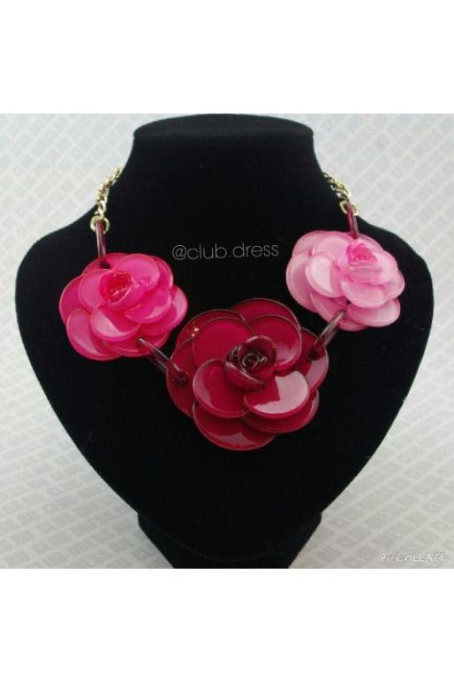 "Колье ""Цветы"" whatsap instagram @clubdress артикул - Артикул: kol_14-1  #EANF# подробнее ->http://26.club-dress.ru/aksessuary55/necklace/kol_14-1.html"