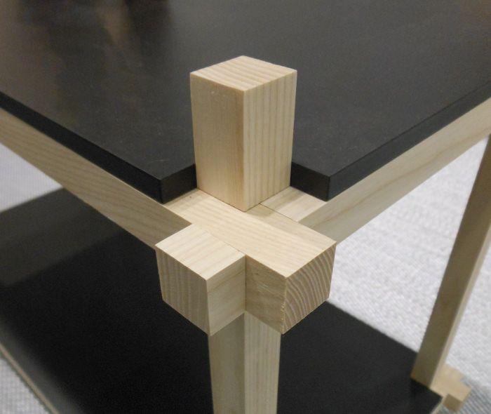 Knot Shelf détail assemblage - Makers With Agendas un studio de design émergent