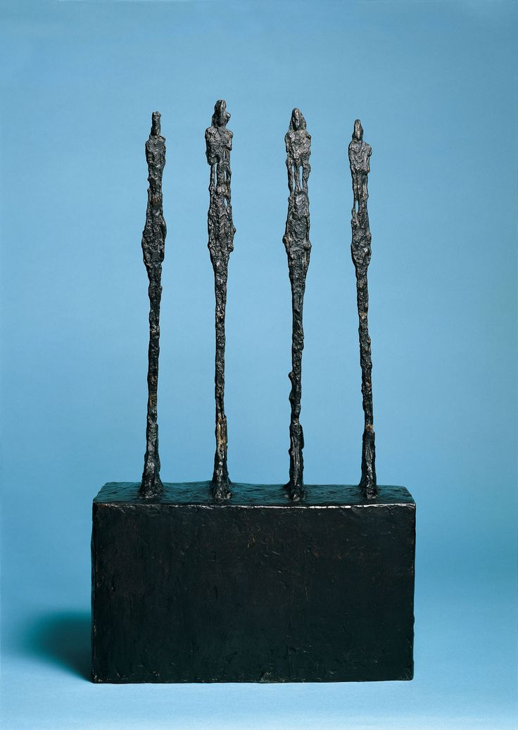 Alberto Giacometti | Vier Frauen auf Sockel - Four Women ...