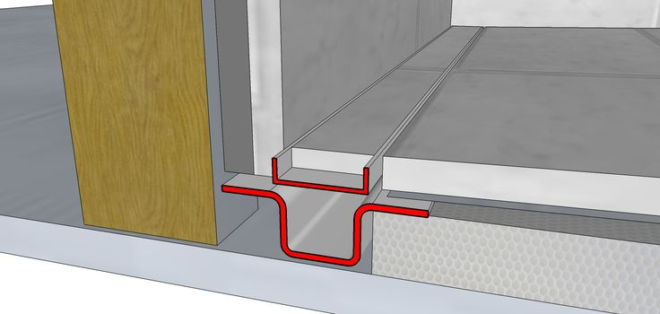 Tile Shower Floor Drain | Installation Drawings for the PROLINE Shower drain