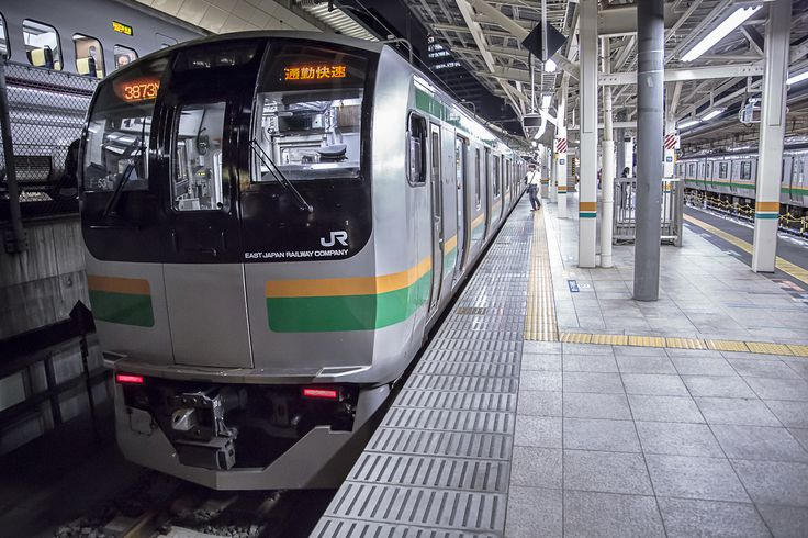 series E217 for the Tokaido-Line at Tokyo terminal(photo by ShowaExpress)