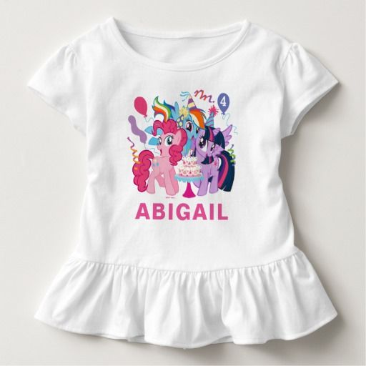 My Little Pony | Pink Birthday Toddler T-shirt