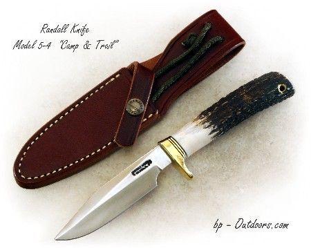 """Randall Knife Model 5-4 """"Camp & Trail"""""""