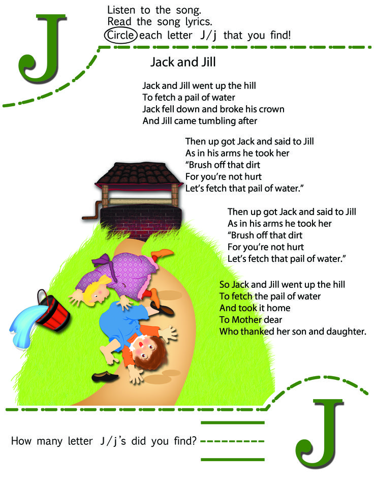 Jack And Jill Kids Song