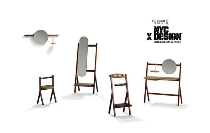 """#Ren, designed by #NERI&HU for Poltrona Frau, wins the inaugural #NYCxDesign Award for best """"Storage"""""""